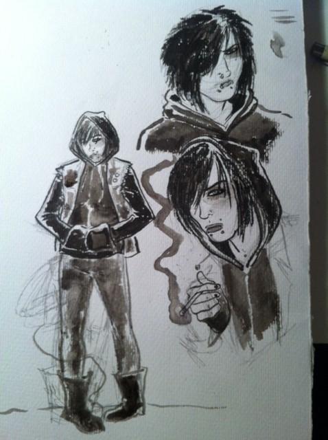 Jen Character Sketch